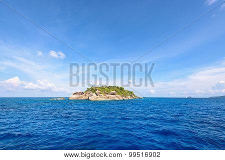 Ko Ha Is A Small Island In Mu Ko Similan, Thailand