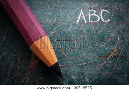 Vintage Schoolboard Pen