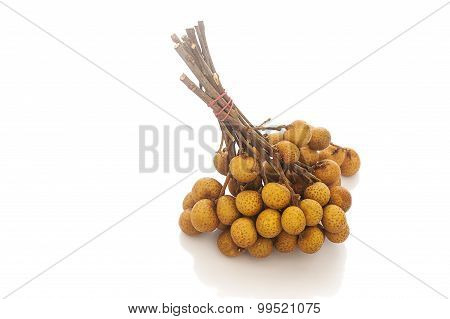 Longan. Fresh Longan Isolated