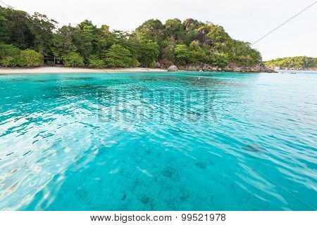 Honeymoon Bay And Beach In Similan Island, Thailand