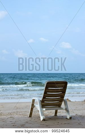 Chairs On A Beach