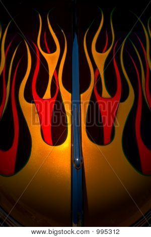 Flames And Fire