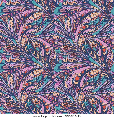 Swirl Abstract Vector Pattern