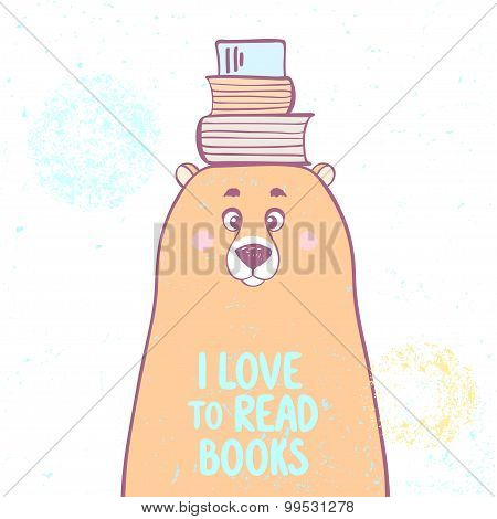 bear and books