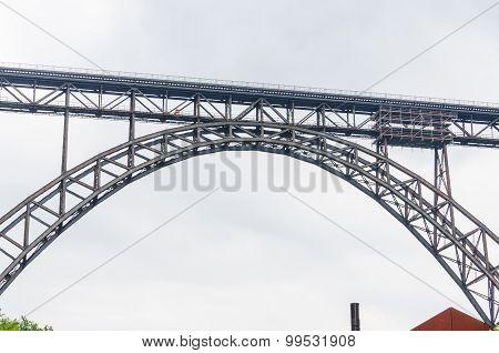 Müngstener Bridge In Solingen, Germany.