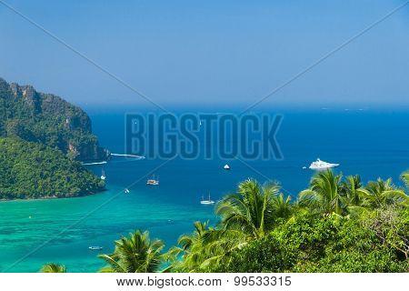 High Viewpoint Heaven Seascape