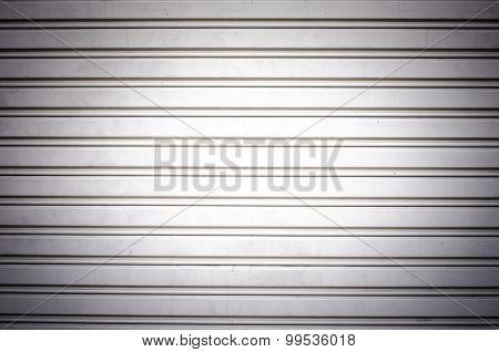 Metal Security Roller Door Background
