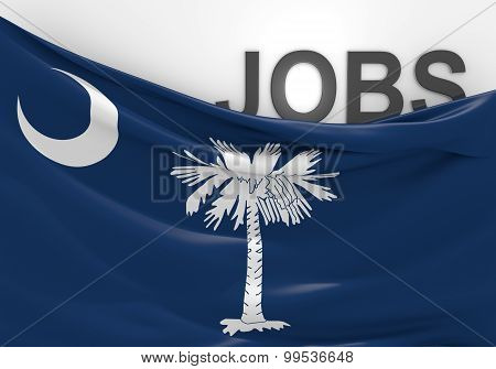 South Carolina jobs and employment opportunities concept