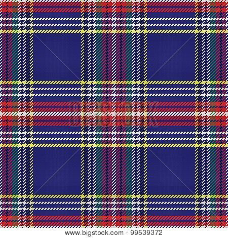 seamless pattern Scottish tartan