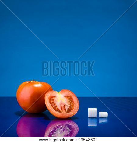 One And A Half Tomato And Sugar