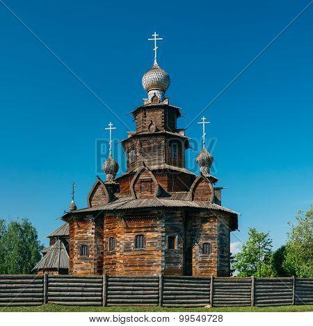 Church of Transfiguration in Suzdal, Russia