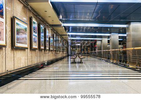 Interior Moscow Metro Station