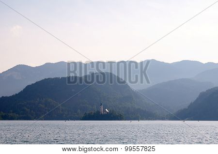 View Over The Lake Bled, Slovenia