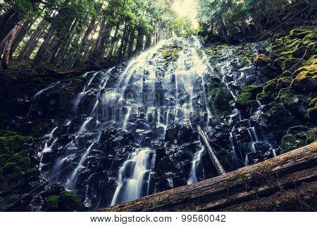 Ramona falls in Oregon,USA