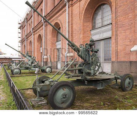 37-mm Automatic Anti-aircraft Gun