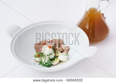 okroshka with kvass