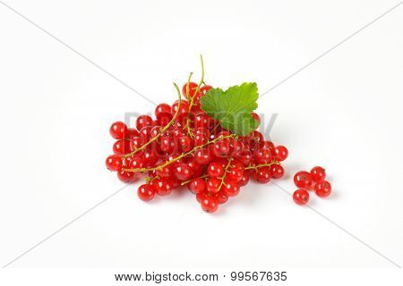 handful of freshly picked red currant