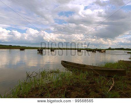 Western Biebrza river.