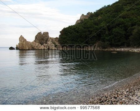Beach in Kemer, Turkey