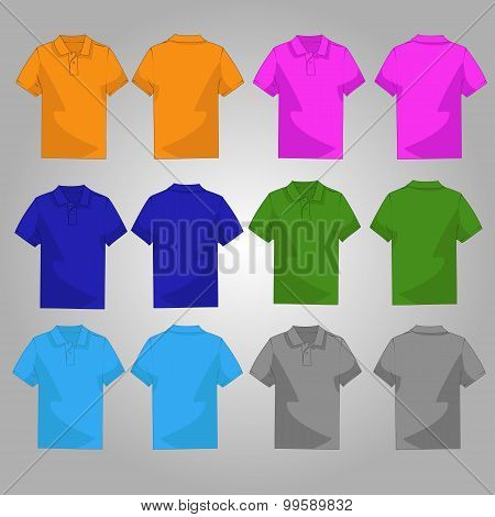 Set of six style polo