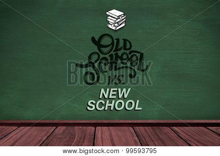 old school vs new school against green room