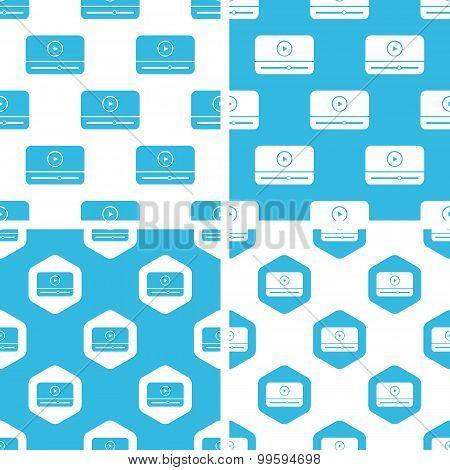 Mediaplayer window patterns set