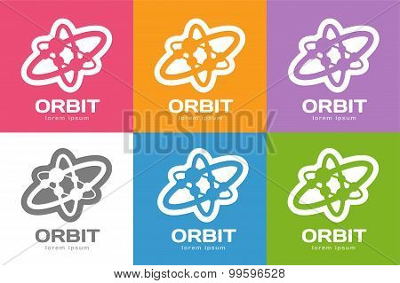Technology orbit web rings logo