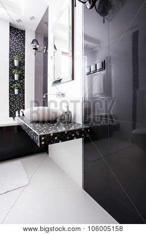 Washroom With Modern Basin