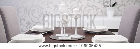 White Exclusive Tableware