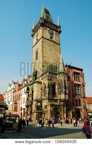 Prague, Old Town Hall with Astronomical Clock
