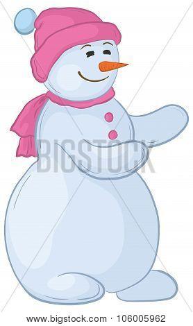 Snowmen woman