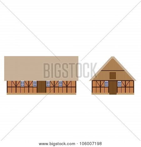 Old Barns Set