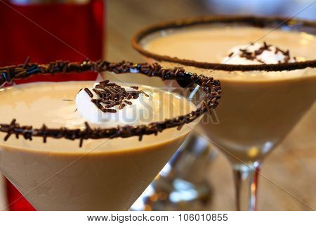 Adult Beverage Chocolate Martini