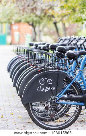 Cluj Bike Sharing