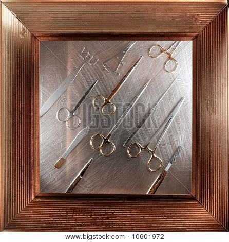 framed surgical instruments