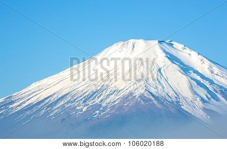 Fuji fujisan from yamanaka lake at Yamanashi Japan