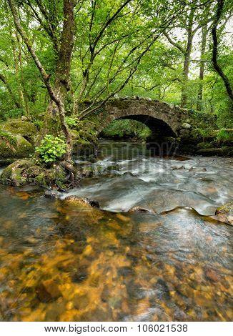 Hisley Bridge On Dartmoor