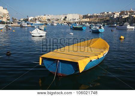 Little Boat At Marsascala