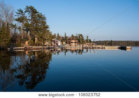 Scenic View Of Fishermen Houses