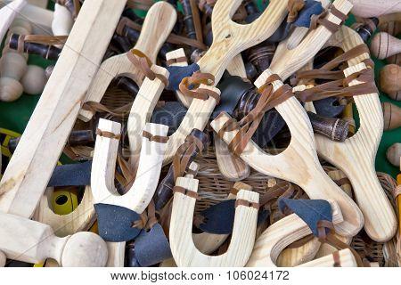 Slingshot Made Of Wood