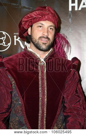 LOS ANGELES - OCT 24:  Maksim Chmerkovskiy at the MAXIM Magazine's Official Halloween Party at the Private Estate on October 24, 2015 in Beverly Hills, CA