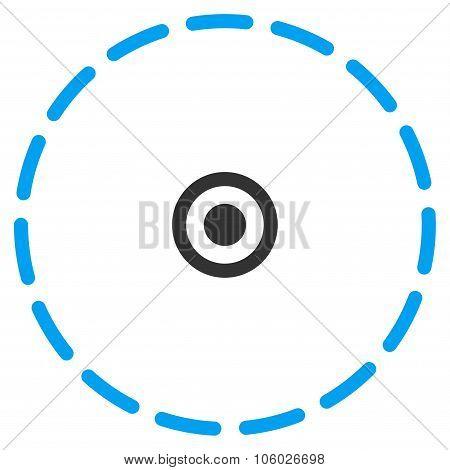 Circle Area Icon
