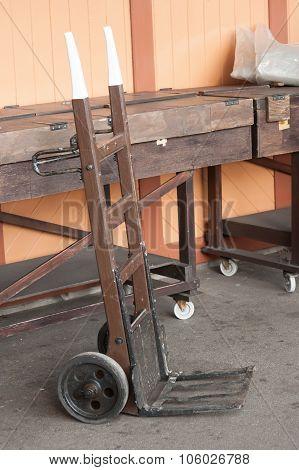 Vintage Handcart