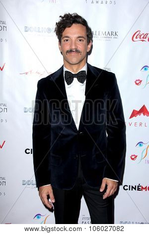 LOS ANGELES - OCT 25:  George Kotsiopoulos at the Internation Film Fashion Awards at the Saban Theater on October 25, 2015 in Los Angeles, CA