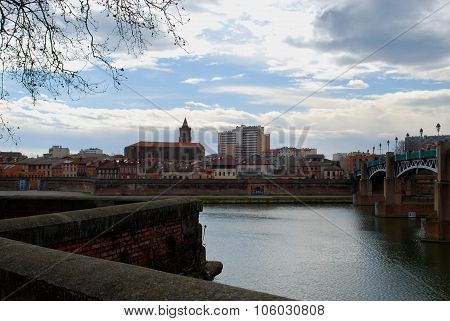 Bank View Of Toulouse