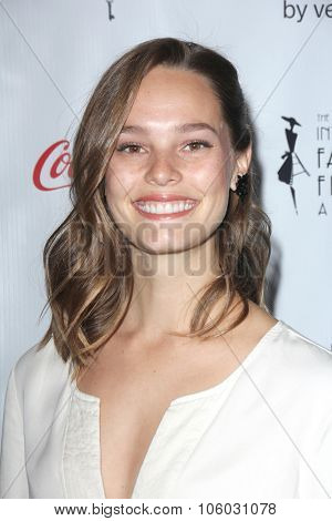 LOS ANGELES - OCT 25:  Bailey Noble at the Internation Film Fashion Awards at the Saban Theater on October 25, 2015 in Los Angeles, CA