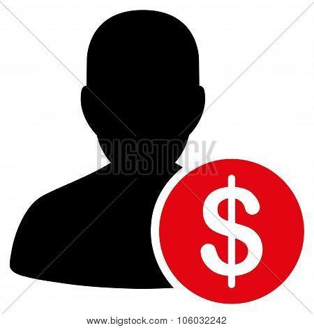 Investor Flat Icon