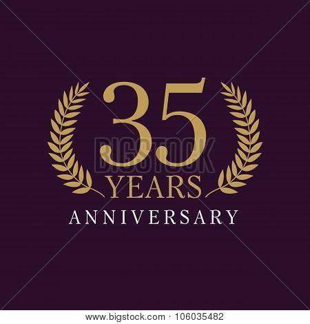 35 anniversary royal logo