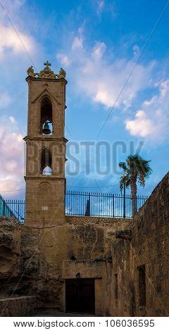 Belfry of medieval Agia Napa Monastery
