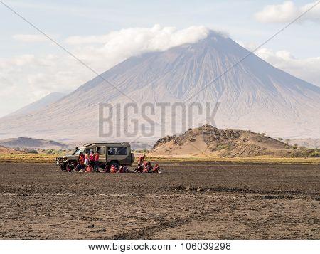 Maasai In Arusha